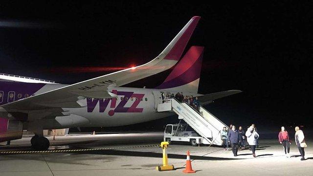 Wizz Air здійснив перший рейс зі Львова до Вільнюса