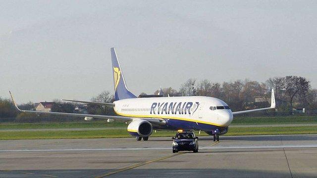 Ryanair відкрив три нові європейські авіанапрямки зі Львова
