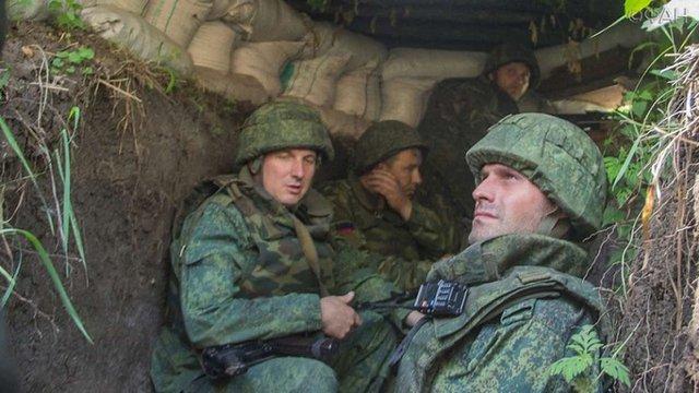 Проросійські бойовики наблизили окопи на 1 км до лінії фронту в районі Горлівки