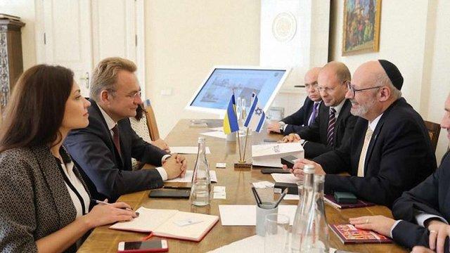 Новопризначений посол Ізраїлю в Україні Джоел Ліон відвідав Львів