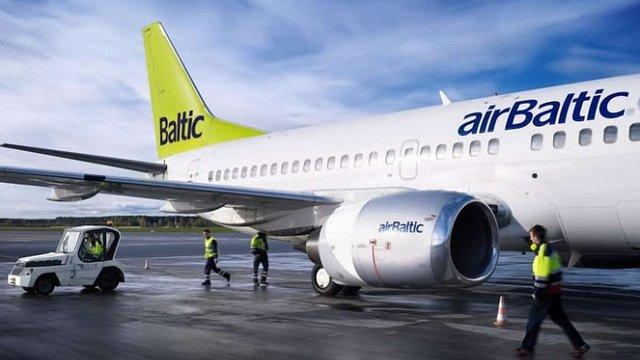Латвійська авіакомпанія airBaltic запускає рейс зі Львова до Риги