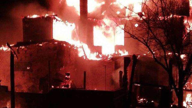 У Червонограді згоріла дача