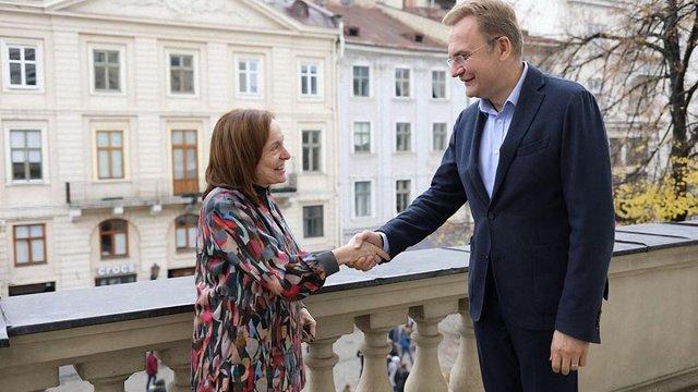 Садовий зустрівся з представницею ПРООН та президентом Американсько-української ділової ради