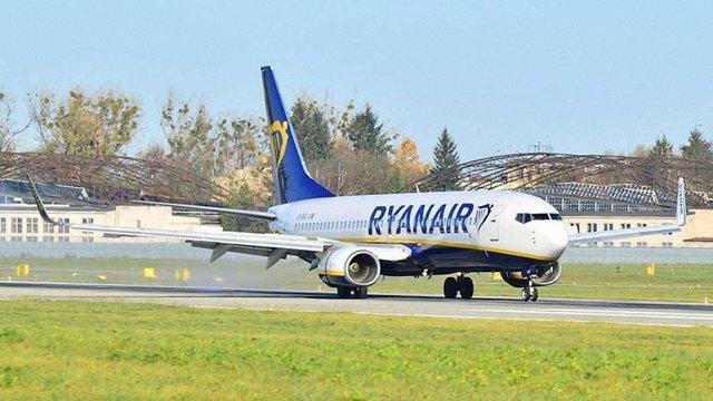 Ryanair виконав перший рейс зі Львова до Лондона