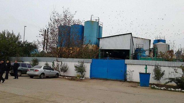 У Миколаївській області невідомі пограбували олійний завод