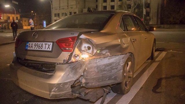Грецький дипломат потрапив у ДТП в центрі Києва