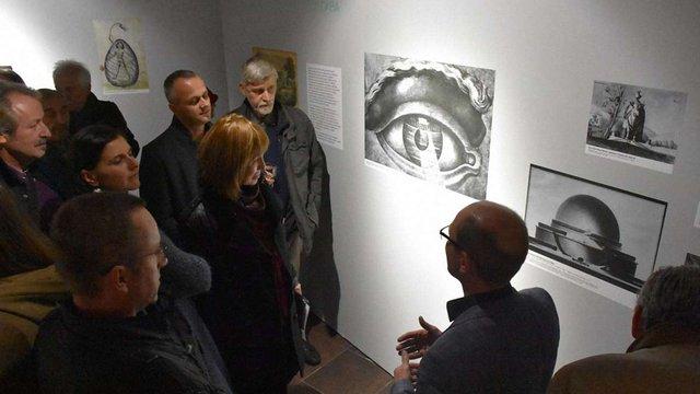 У Львові триває виставка Павла Гудімова «Metropolis. Минулі утопії майбутнього»