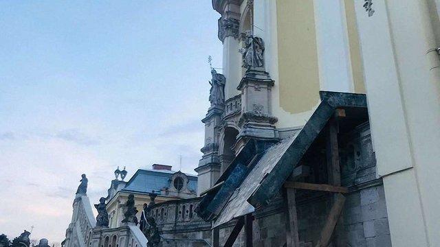 У Соборі св. Юра відреставрують дзвіницю, огорожу та облаштують нові вбиральні
