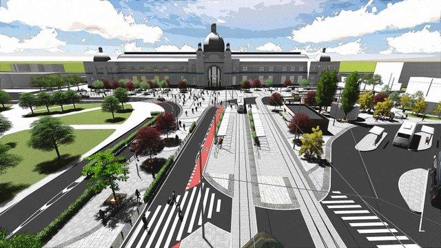 Мерія шукатиме інвесторів для будівництва паркінгу біля вокзалу і спорткомплексу на Липинського