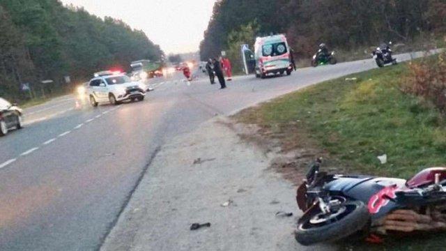У ДТП поблизу Львова загинули велосипедист та мотоцикліст