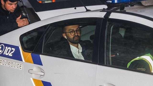 Депутат Сергій Лещенко опублікував відео ДТП зі своїм автомобілем