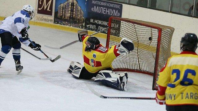 На Львівщині стартували матчі Карпатської молодіжної хокейної ліги