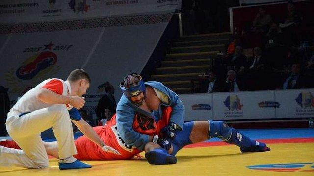 Українські спортсмени завоювали п'ять медалей у перший день чемпіонату світу із самбо