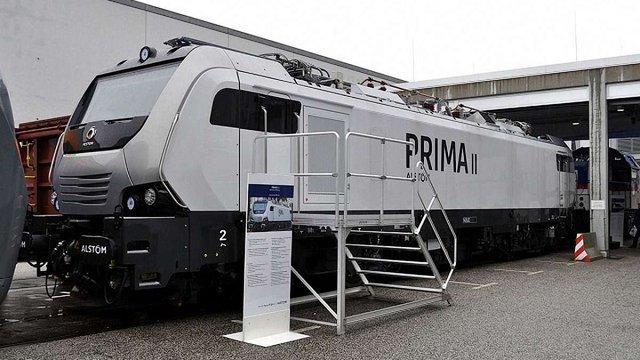 Французька компанія Alstom планує частково виготовляти свої локомотиви в Україні