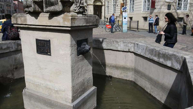 Всі львівські фонтани вимкнуть до весни