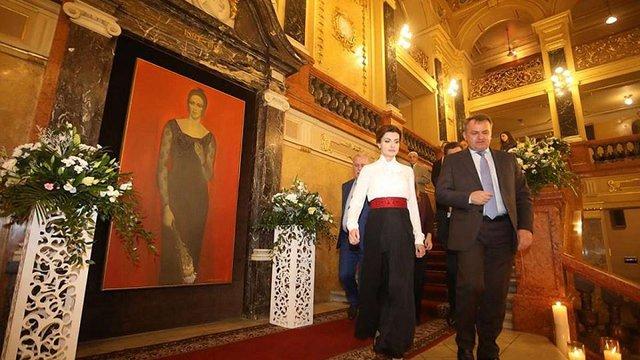 Фестиваль оперного мистецтва імені Соломії Крушельницької у Львові відвідала Марина Порошенко
