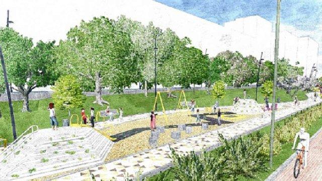У Шевченківському районі Львова завершують облаштування громадського простору за 4,5 млн грн
