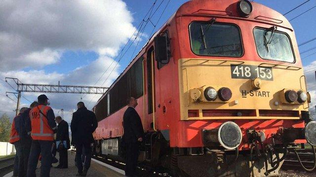 До Мукачева прибув тестовий поїзд з Будапешта