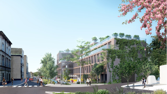 Біля Стрийського ринку у Львові збудують 6-поверховий паркінг та офіси