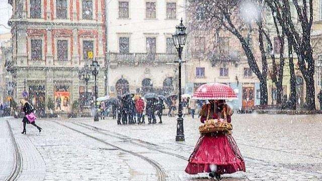 У неділю на заході України випаде невеликий сніг