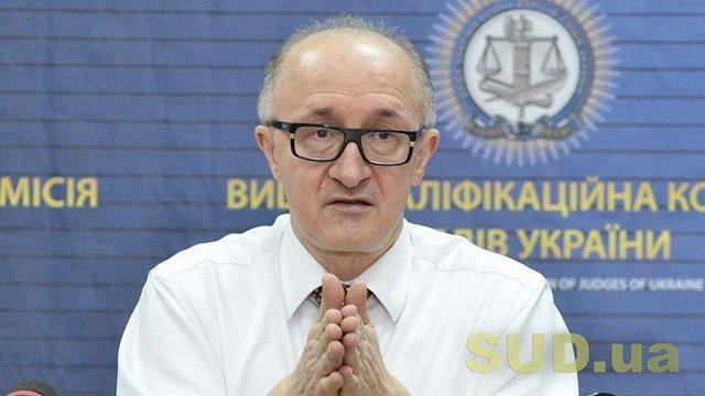 В Києві облили зеленкою керівника Вищої кваліфікаційної комісії судів