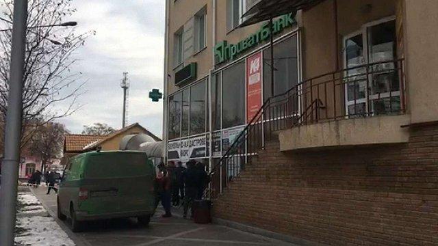 В Ірпені поблизу Києва пограбували інкасаторів «ПриватБанку»