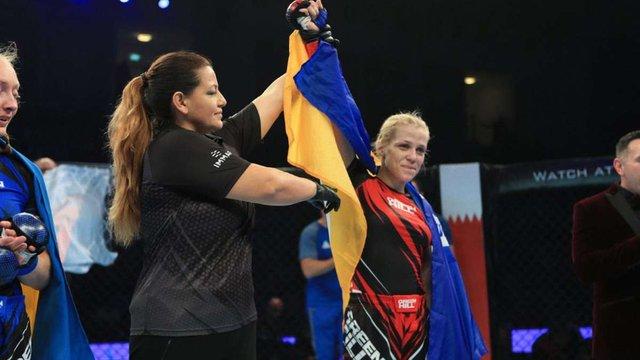 Українка вперше в історії стала чемпіонкою світу  зі змішаних єдиноборств