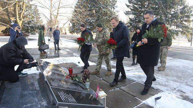 У Львові відбулись урочисті заходи з нагоди Дня десантно-штурмових військ