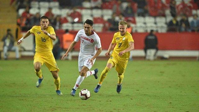 Збірна України не зуміла обіграти Туреччину у товариському матчі