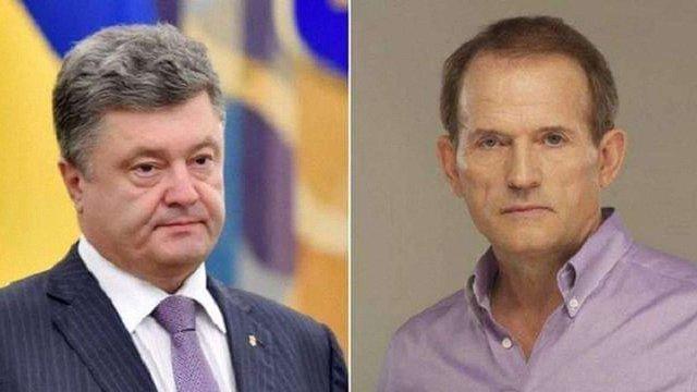 Журналісти зафіксували, як Медведчук таємно зустрічається з Порошенком