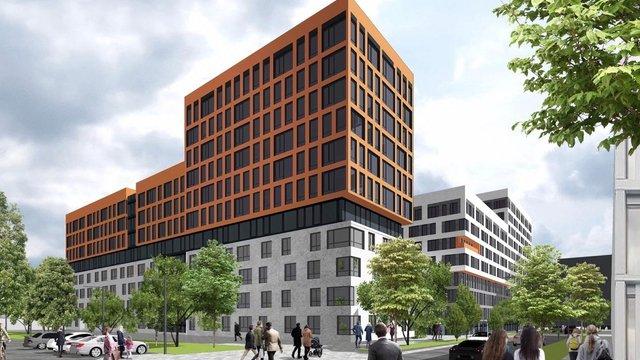 Біля ЛАЗу збудують багатоповерховий житловий комплекс