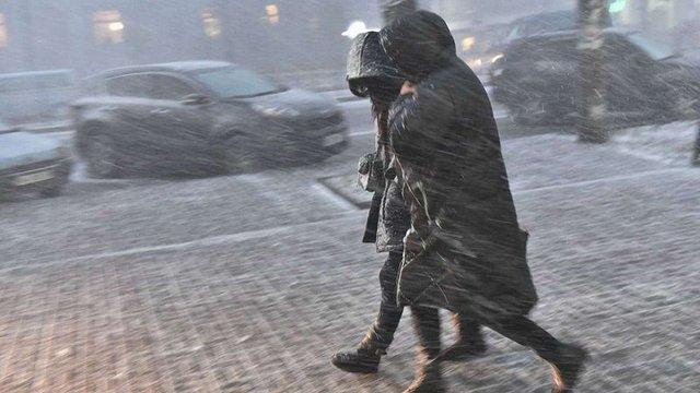 Синоптики пообіцяли з наступного тижня рясні снігопади та ожеледь