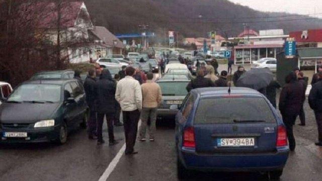 Поліція відкрила кримінальні провадження через блокування доріг поблизу кордону на Львівщині