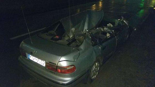 Львівські патрульні розшукали нетверезого водія, який втік із місця ДТП