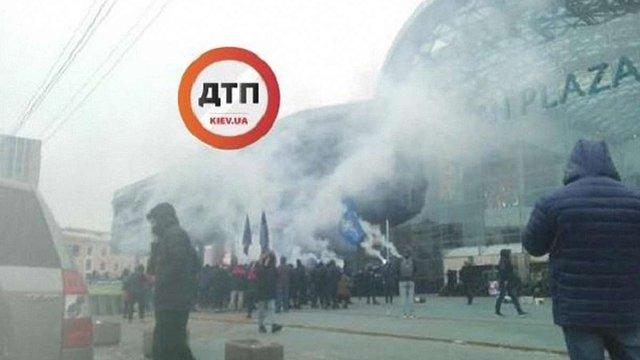 Активісти заблокували найбільший в Києві ТРЦ Ocean Plaza