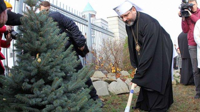 Глава УГКЦ закликав вірних відмовитися від зрубаних ялинок на Новий рік та Різдво