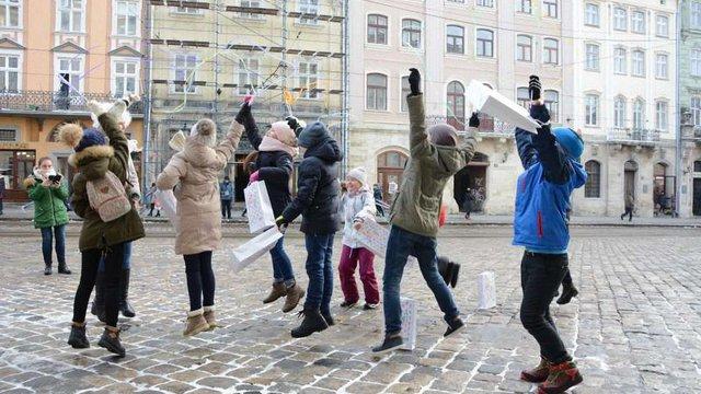 Для львівських школярів організували історичний квест