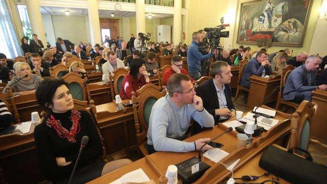 Львівська міськрада звернулася до МЗС із закликом розірвати дипломатичні відносини з Росією