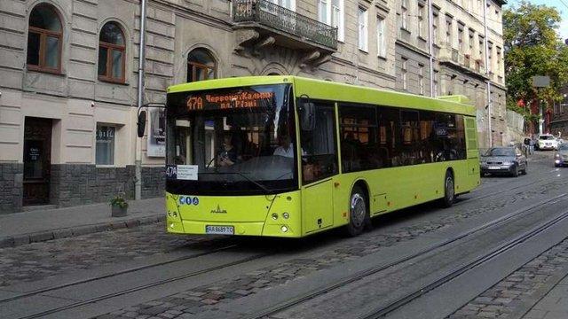 У віддалені райони Львова запустять великі автобуси