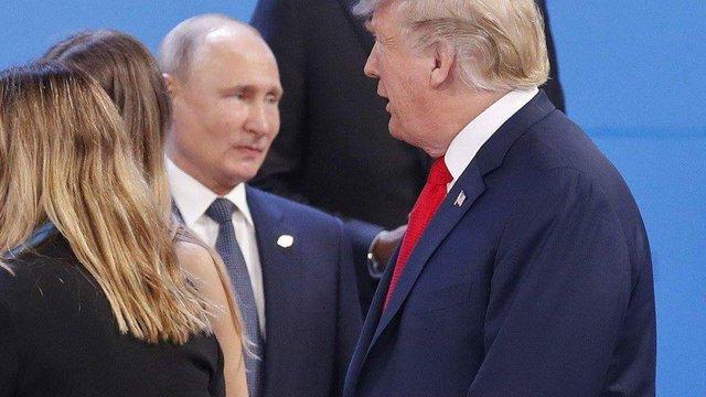 Трамп проігнорував Путіна на церемонії фотографування лідерів країн G20