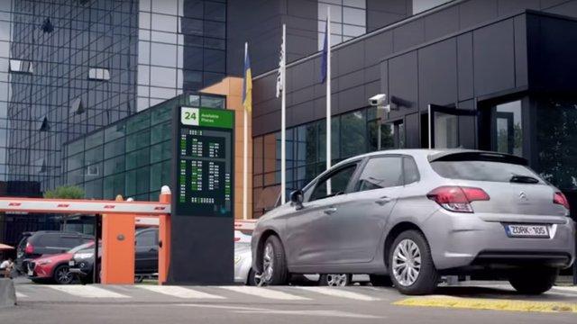 Львівська компанія SoftServe почала тестування паркінг-системи на базі машинного навчання