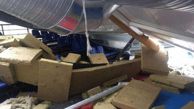 Поліція затримала трьох причетних до обвалу даху у дитячій спортшколі на Київщині