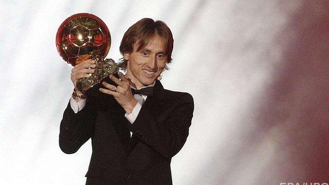 «Золотий м'яч» отримав хорватський футболіст Лука Модріч