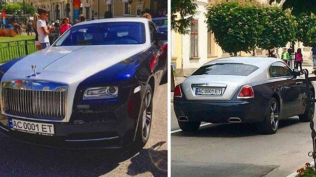 Rolls-Royce 74-річної свекрухи працівниці Львівської митниці помітили у Монако