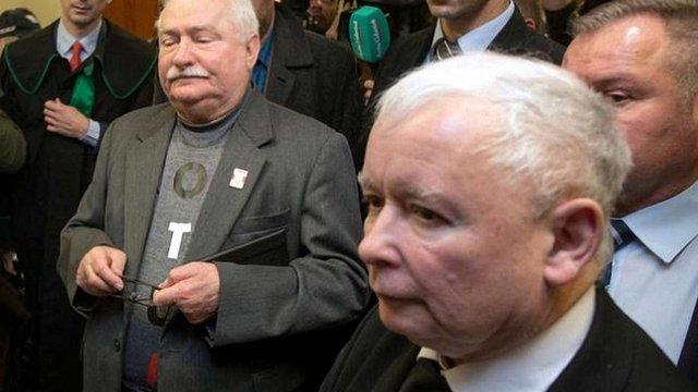 У Польщі Лех Валенса програв суд Ярославу Качинському через дописи у Facebook