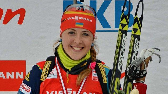 Українка Юлія Джима перемогла в індивідуальній гонці на етапі Кубка світу з біатлону