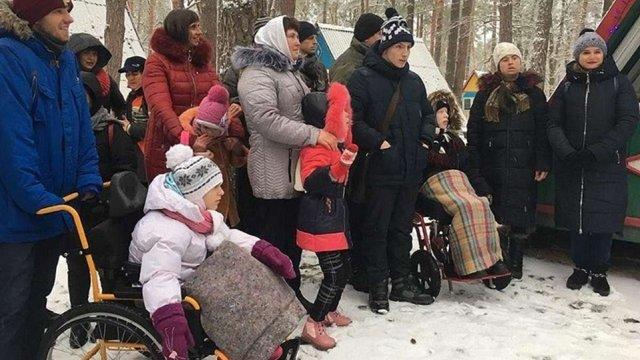На Львівщині діти з інвалідністю побували у резиденції  Миколая