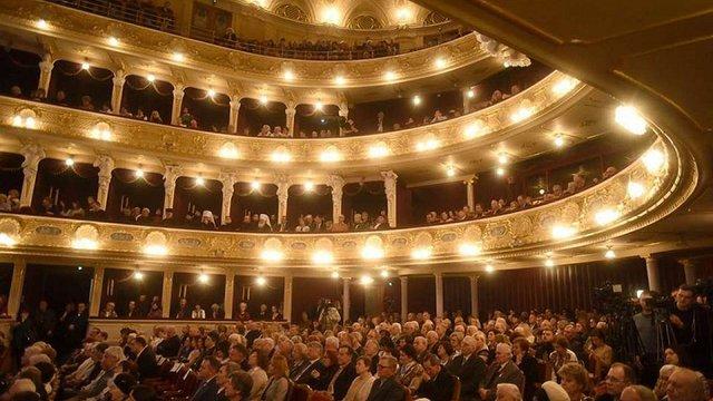 У Львівській опері відзначили 150-річчя створення товариства «Просвіта»