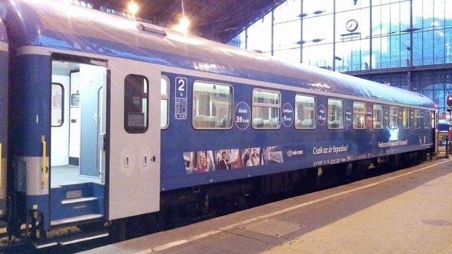 Між Будапештом і Мукачевом офіційно запустили регулярне залізничне сполучення