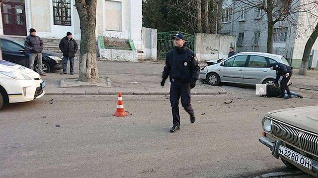 У Львові учасник ДТП затримав п'яного водія без прав, який намагався втекти з місця події
